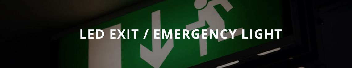 LED Exit/Emergency Light