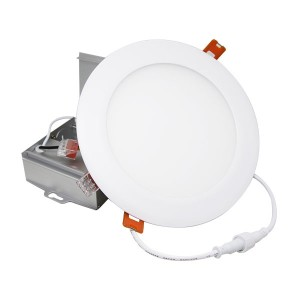 LED Slim Panel - White - 12W - 6 inch - 3000K Warm White - 277-347V AC