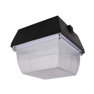 Solar LED Canopy - 90W - 4000K Natural White- 347V AC