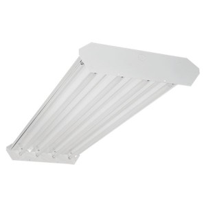 Fluorescent High Bay - 4FT - 6-lamp T5HO - Ballast included - 347V