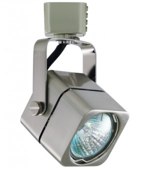 APOLLO Brushed Nickel Track Fixture - Max. 50W - 120VAC - Brushed Nickel