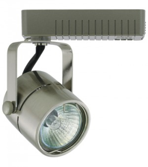 SORA Brushed Nickel Track Fixture - Max. 50W - 12VAC - Brushed Nickel