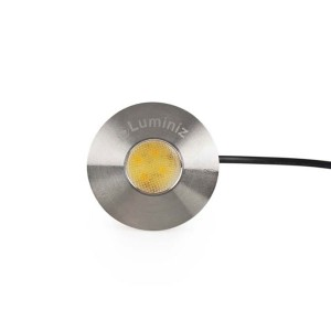 LED Landscape - Frosted Button - 1W - 2700K Soft White