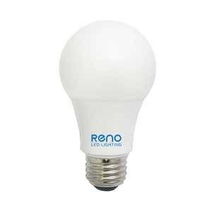 LED A19 - 9W - Dimmable - 3000K Warm White - 120V AC - 25,000 hrs lifespan