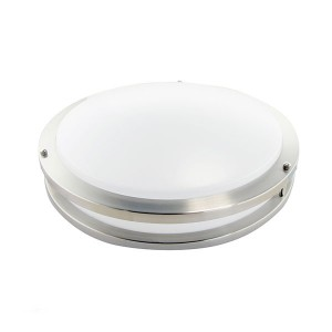 LED Flush Mount Ceiling Fixture (Drum Fixture) - 15W - 4000K Natural White - 16 inch - 100-277V AC